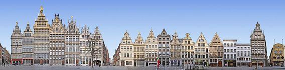 Antwerpen Grote Markt Panorama