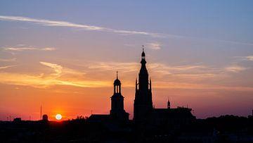 Skyline Breda - Grote Kerk van