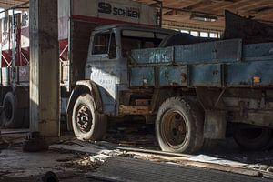 Urbex - Verlaten garage van