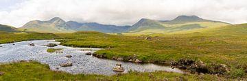 Highland Landschaft in der Nähe des Glencoe Mountain Resort von Hans-Heinrich Runge
