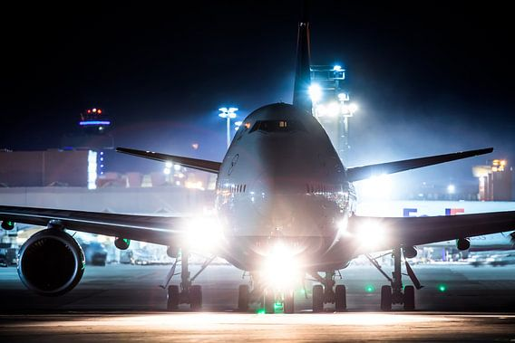 Lufthansa Boeing 747 line-up