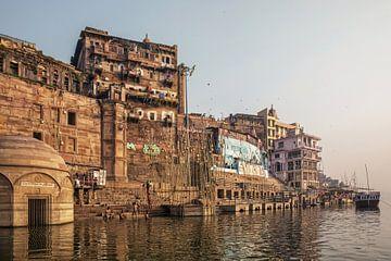 Varanasi, Uttar Pradesh, India van Tjeerd Kruse
