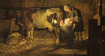 Les deux mères, Giovanni Segantini sur