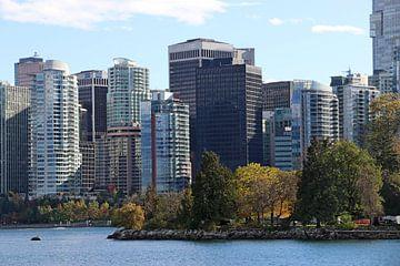 skyline Vancouver van eddy Peelman