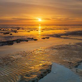 De Waddenzee in prachtig licht van Karla Leeftink