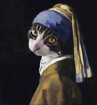 Kat met de Parel van Sanne Smits