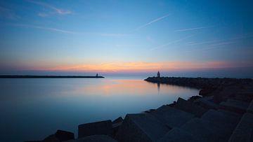 De haven van Scheveningen van Michael Fousert
