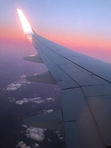 Vliegtuig foto  van