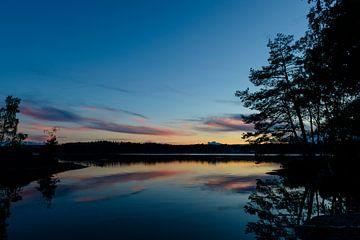 Sweden Sunset sur Sjoerd van der Wal