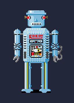 Retro Robot von Nele VdM