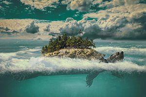 The moving island von