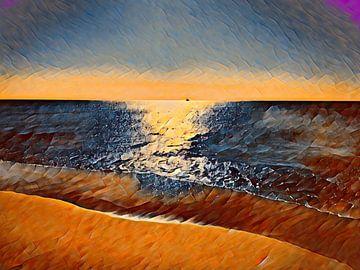 Aan zee van Christine Bässler