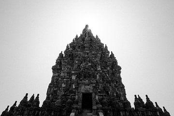 De Prambanan tempel, Yogyakarta van Martijn Smeets