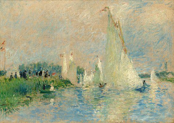 Regatta at Argenteuil, Auguste Renoir van Liszt Collection