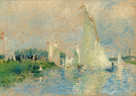 Regatta at Argenteuil, Auguste Renoir