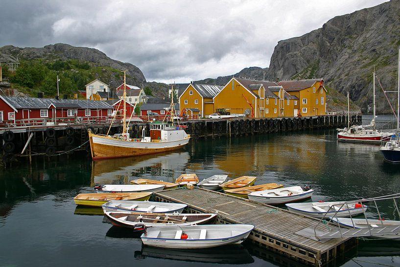 Nusfjord op de Lofoten van Antwan Janssen