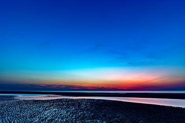 Juist nach Sonnenuntergang
