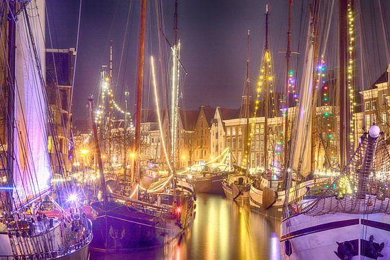 Winterwelvaart Groningen 2017 van Arthur de Groot