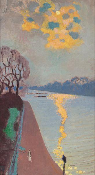 Maurice Denis~Sonnenlicht auf dem Fluss von finemasterpiece