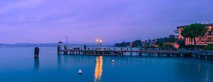 Zonsondergang Sirmione, Gardameer, Italië