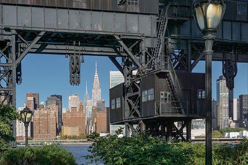 Stillgelegte Hafenanlage in Queens