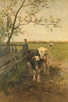De melkbocht, Anton Mauve sur