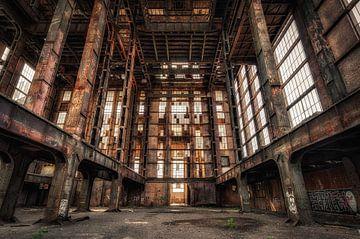 Verlaten energiecentrale van Jeroen Linnenkamp