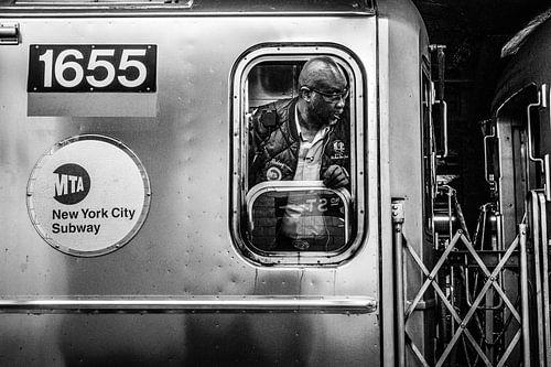 Subway Manhattan New York City van