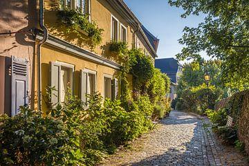 Morgenstimmung in der Altstadt von Höchst van Christian Müringer