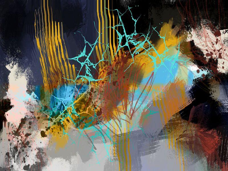 Abstract, Pluk boeket. van SydWyn Art