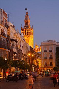 Sevilla: Uitzicht vanaf de Plaza de San Francisco tot aan de Giralda van Torsten Krüger