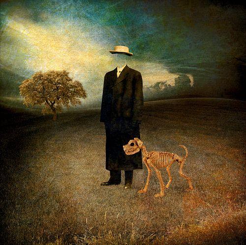 Monsieur Magritte et son chien van Marja van den Hurk