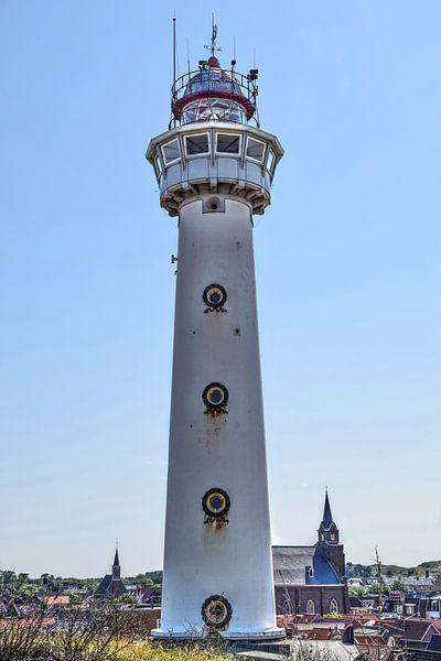 Egmond aan Zee Binnenstad Vuurtoren van Hendrik-Jan Kornelis