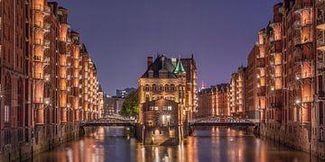 Wasserschloss Speicherstadt, Hamburg von Jenco van Zalk