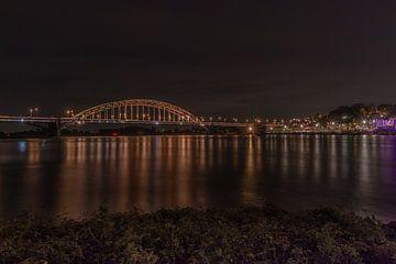 Wallonische Brücke Nimwegen von Klaas Doting