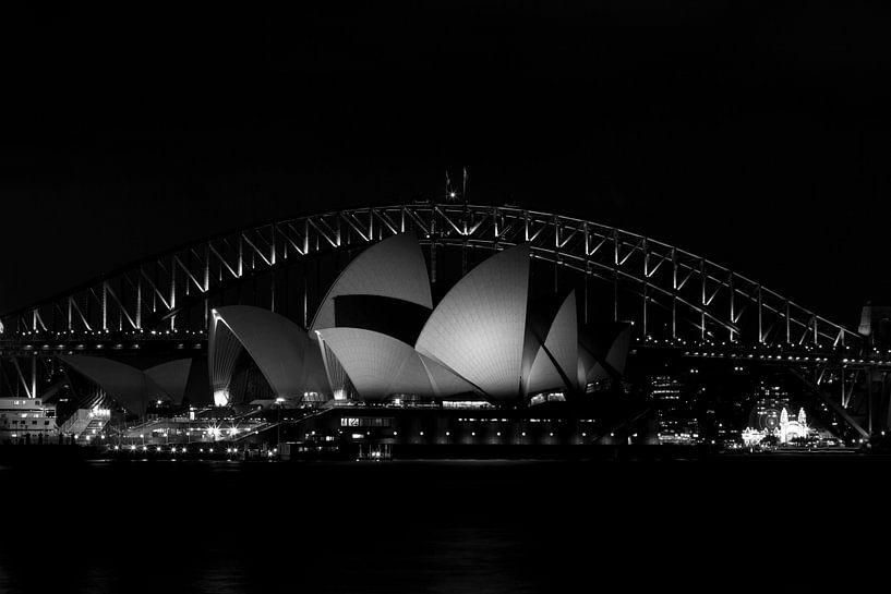Sydney Black&white van Mike van den Brink