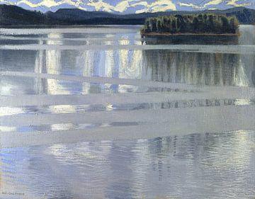 Lac Keitele, Akseli Gallen-Kallela sur