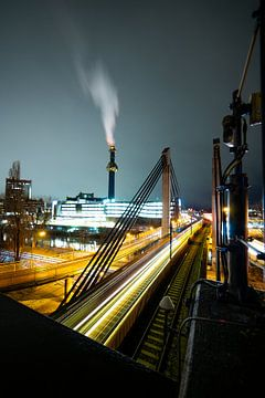 Railaway in Wien von Twan Thimister