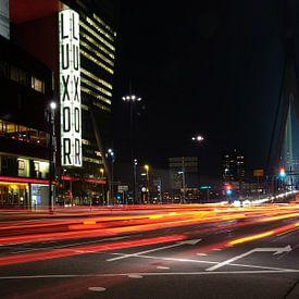 Verkeer in Rotterdam van Huub Keulers
