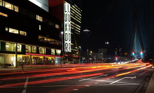 Verkeer in Rotterdam van
