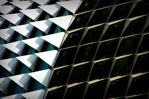 architectuur close up van