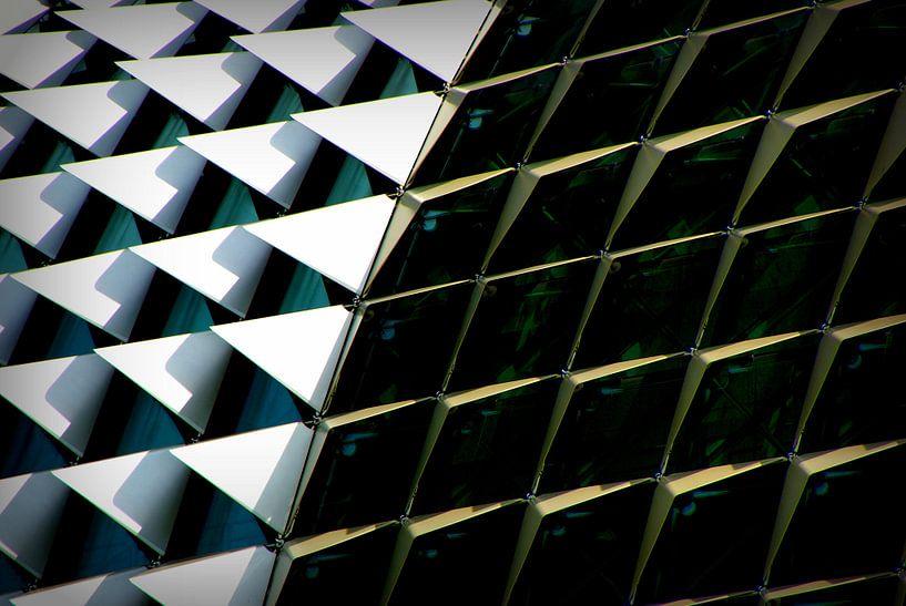 architectuur close up van Stefan Kruizinga