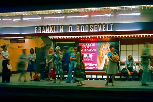 Paris Metro 1970 von