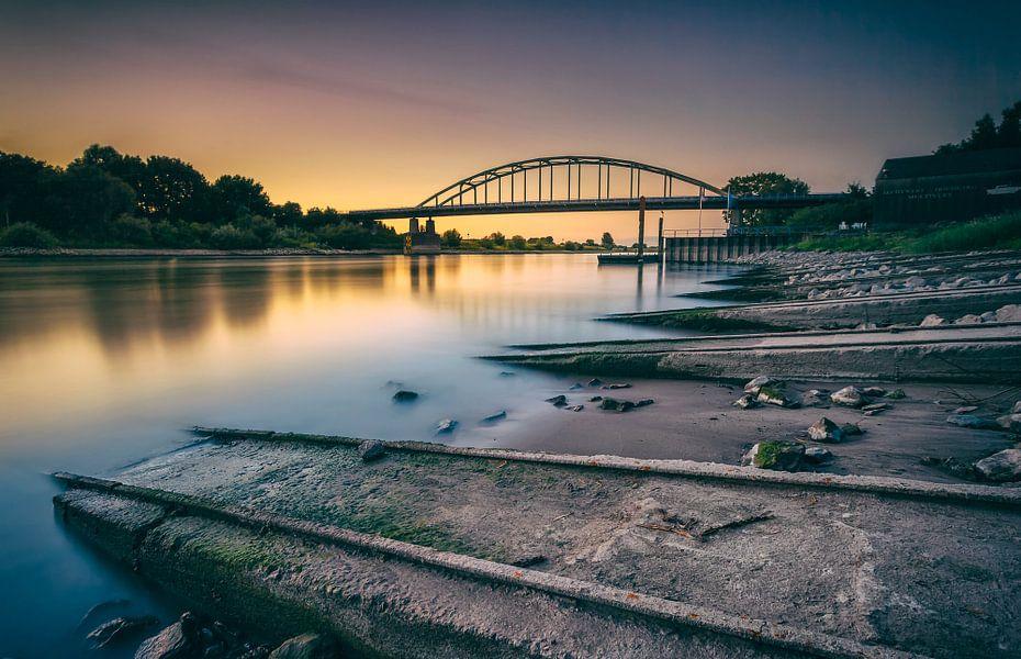 zonsondergang brug Doesburg