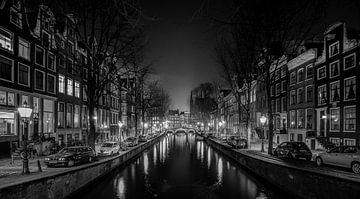 Leidsegracht Amsterdam von Jacco van der Zwan