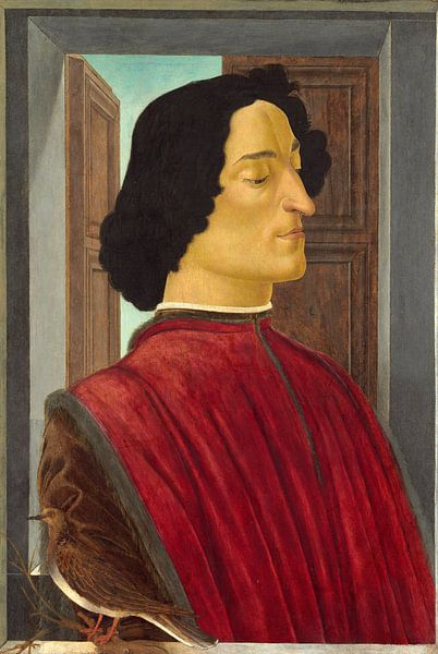 Giuliano de' Medici, Sandro Botticelli. von Meesterlijcke Meesters
