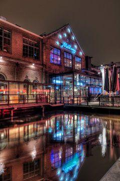 De Melkweg Amsterdam snachts van Wouter Sikkema