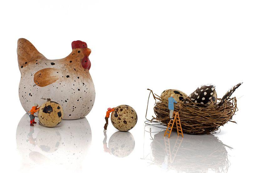 easter eggs production sur ChrisWillemsen