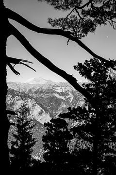 Witte Bergen uitzicht in Kreta sur Lennart Stolte