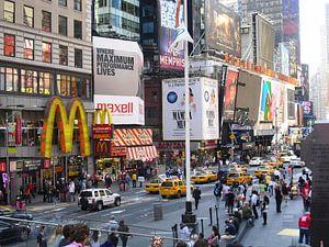 Times Square van Sander van Klaveren